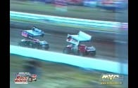March 14, 1998 – Sprint Car Racing Association – Perris Auto Speedway – Rip Williams Crash