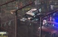 March 9, 2019 – Kings of Thunder 360 Sprint Cars – Thunderbowl Raceway – Robbie Price crash