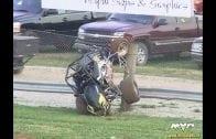 June 16, 2018 – Sprint Car Challenge Tour – Keller Auto Speedway – Ryan Robinson / Jodie Robinson Crash