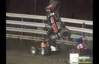 "August 11, 2009 – USAC National Sprint Cars – ""Ultimate Challenge"" – Oskaloosa, IA –  Brad Sweet Crash – Vimeo thumbnail"