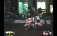 "October 18, 2002 – 360 Sprints – ""Trophy Cup"" – Mike Henry crash – Kings Speedway – Hanford, CA (QRV)"