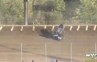 "September 22, 2012 – USAC National Midgets – ""4-Crown Nationals"" – Eldora Speedway – Caleb Armstrong crash – Vimeo thumbnail"