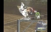 March 23, 2002 – Sprint Car Racing Association – Perris Auto Speedway –  Adam Mitchell Crash – Vimeo thumbnail