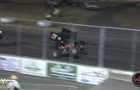 March 9, 2019 – Kings of Thunder 360 Sprint Cars – Thunderbowl Raceway – Robbie Price crash