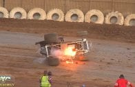 "August 18, 2018 – 360 Sprint Cars – ""Mark Forni Classic"" – Placerville Speedway – Shane Hopkins Crash – Vimeo thumbnail"