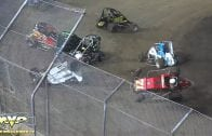 September 1, 2018 – North West Ford Focus Midgets – Skagit Speedway – Multi Car Crash – Vimeo thumbnail