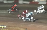 October 13, 2018 – Western RaceSaver 305 Sprint Cars – Keller Auto Speedway – Mauro Simone Crash
