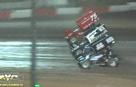 November 6, 2009 – USAC National Sprint Cars – Perris Auto Speedway – Marty Hawkins Crash