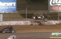February 27, 2019 – USAC West Coast 360s – Las Vegas Motor Speedway – Sterling Cling Crash