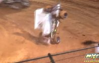 March 30, 2019 – BCRA Midget Lites – Placerville Speedway – Hunter Kinney Crash
