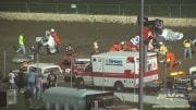 May 4, 2012 – World of Outlaws – Eldora Speedway – Multi Car Crash – Vimeo thumbnail