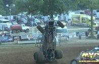 July 19, 2012 – USAC National Sprint Cars – Lincoln Park Speedway – Jonathan Hendrick Crash
